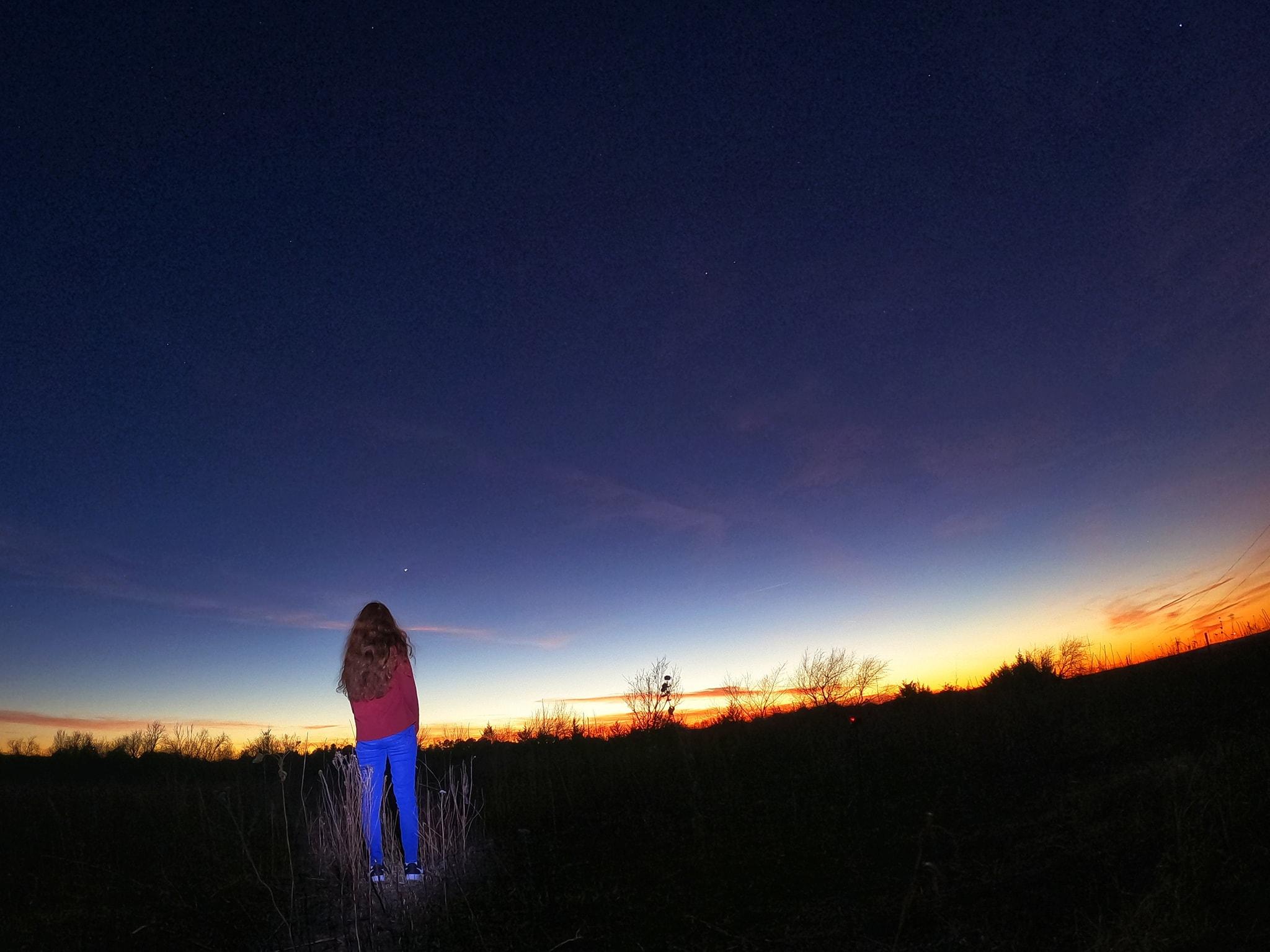 Last night I visited Prairie State Park