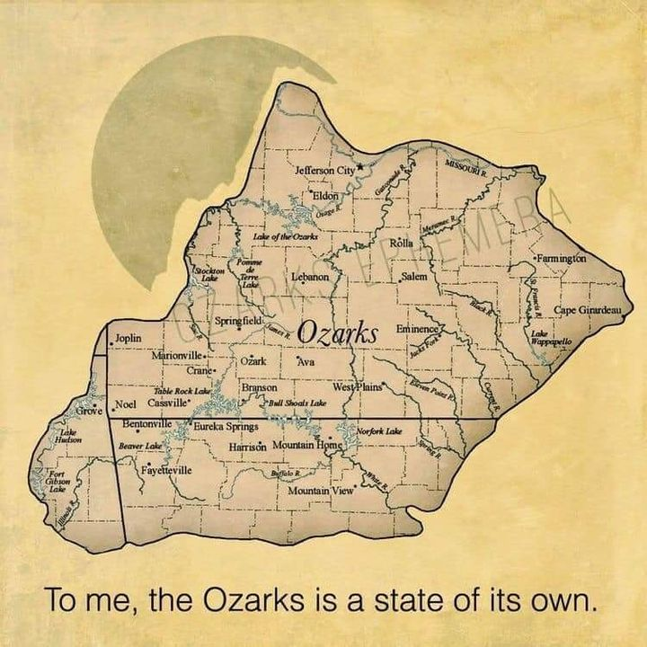 I love the great state of the Ozarks! [2021-03-09 06:00:33]