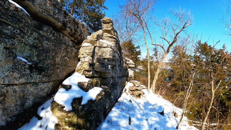 Rim Rock Loop – Arkansas  This Is a nice 1 mile loop with an 105 ft altitude ch… [2021-03-08 06:00:12]