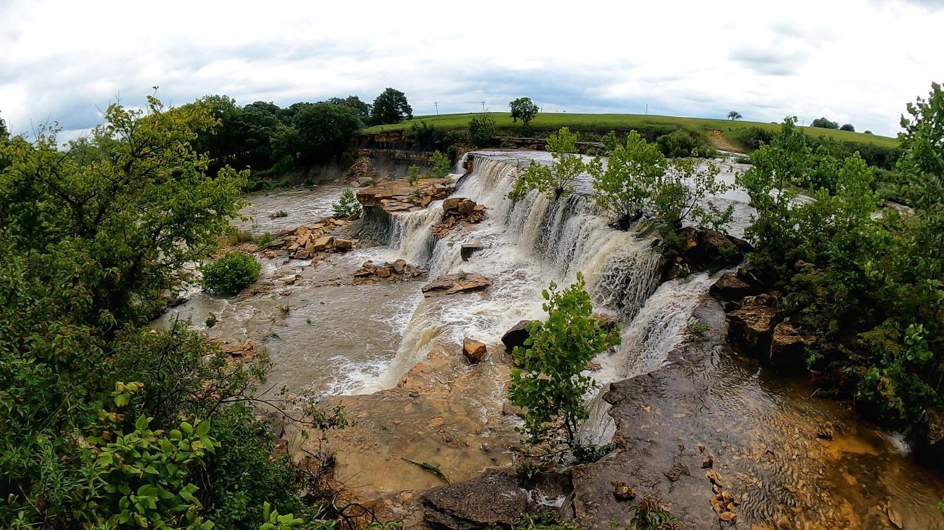 Bachelor Creek Falls – Kansas