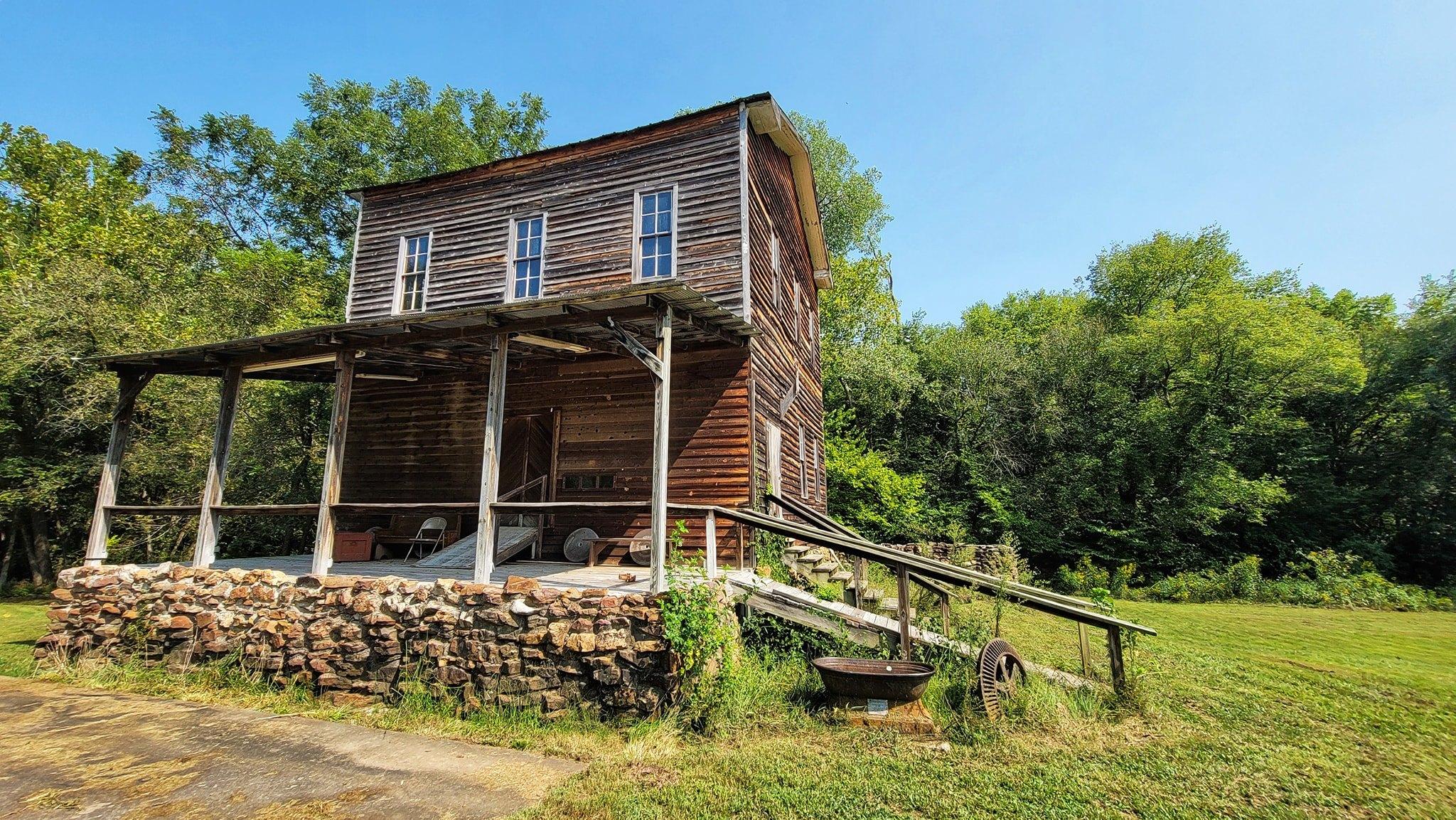 Historic Hulston Mill –  Dade County, Missouri   In 1840 the mill was establishe…