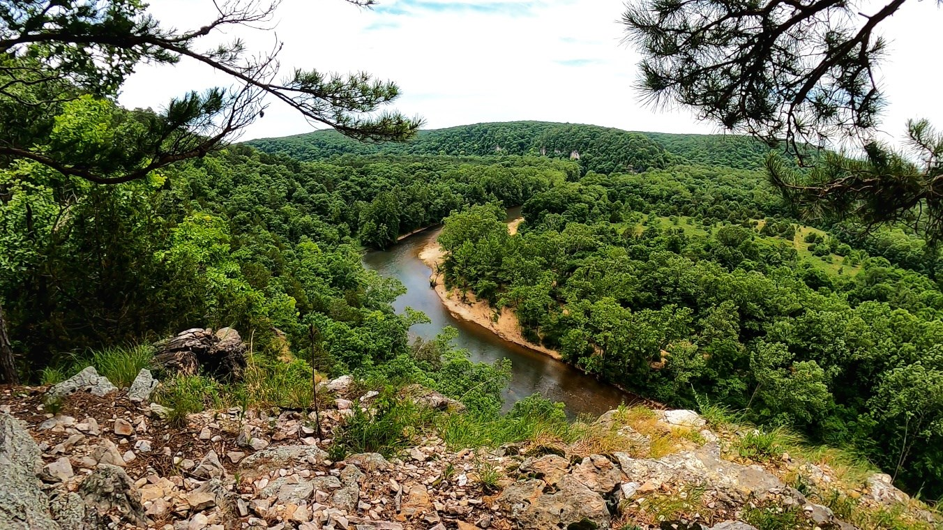 Slabtown Bluff Trail – Missouri   This trail was overgrown and missing trailblaz…
