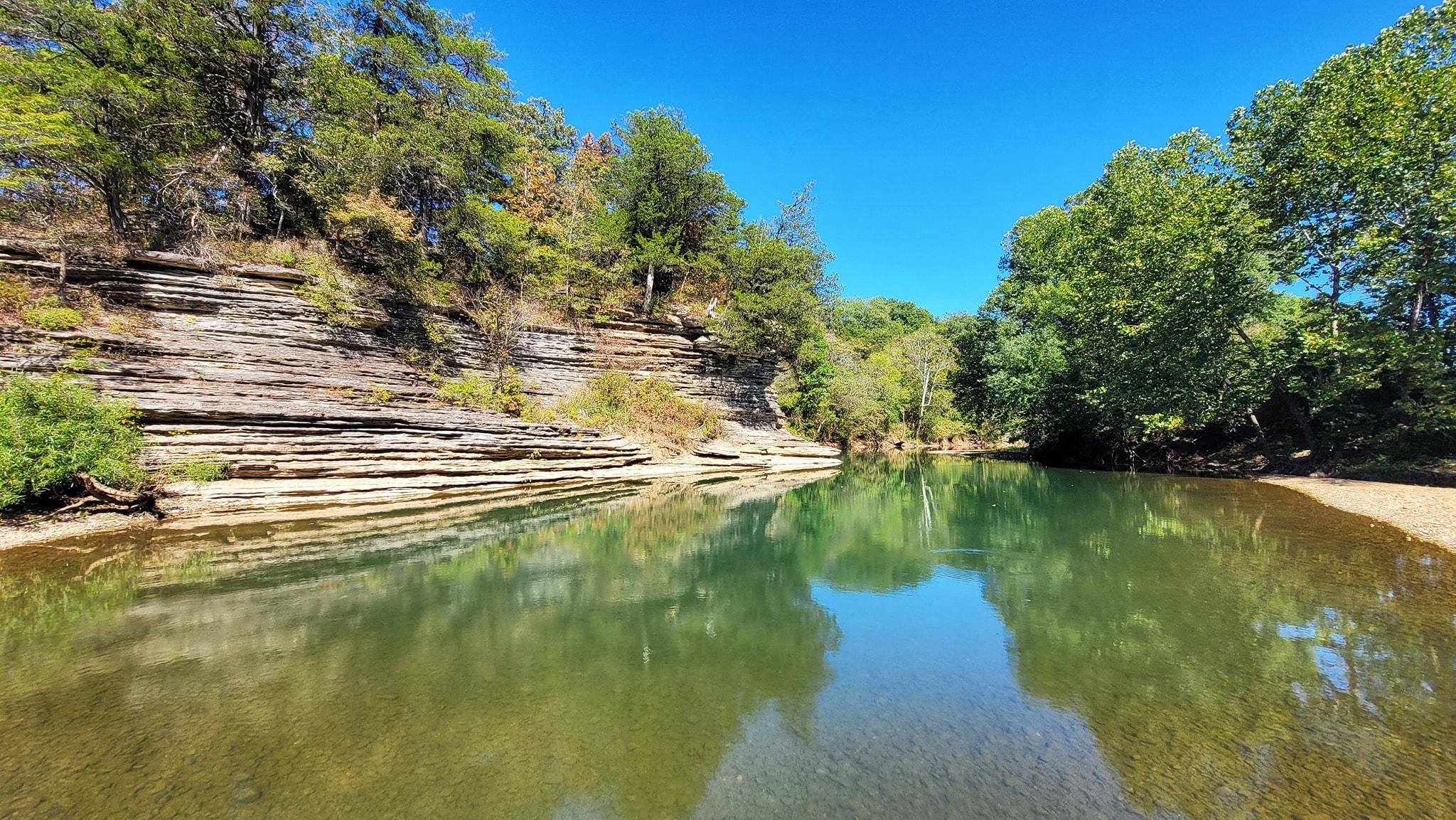 Gar Hole – War Eagle Creek, Arkansas