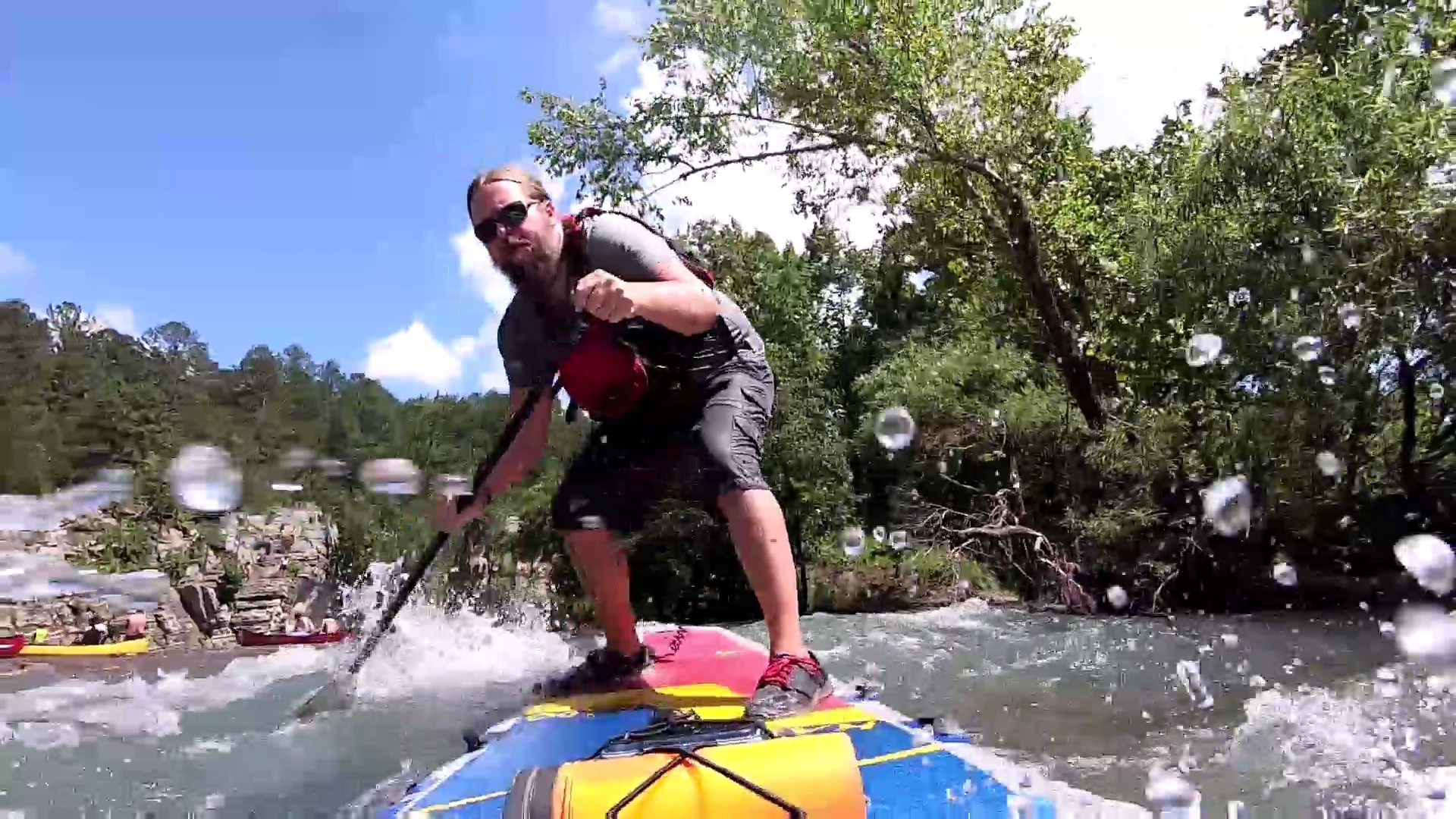 Buffalo River SUP-ing & Wipeouts 6-29-19 [ HD VIDEO ]