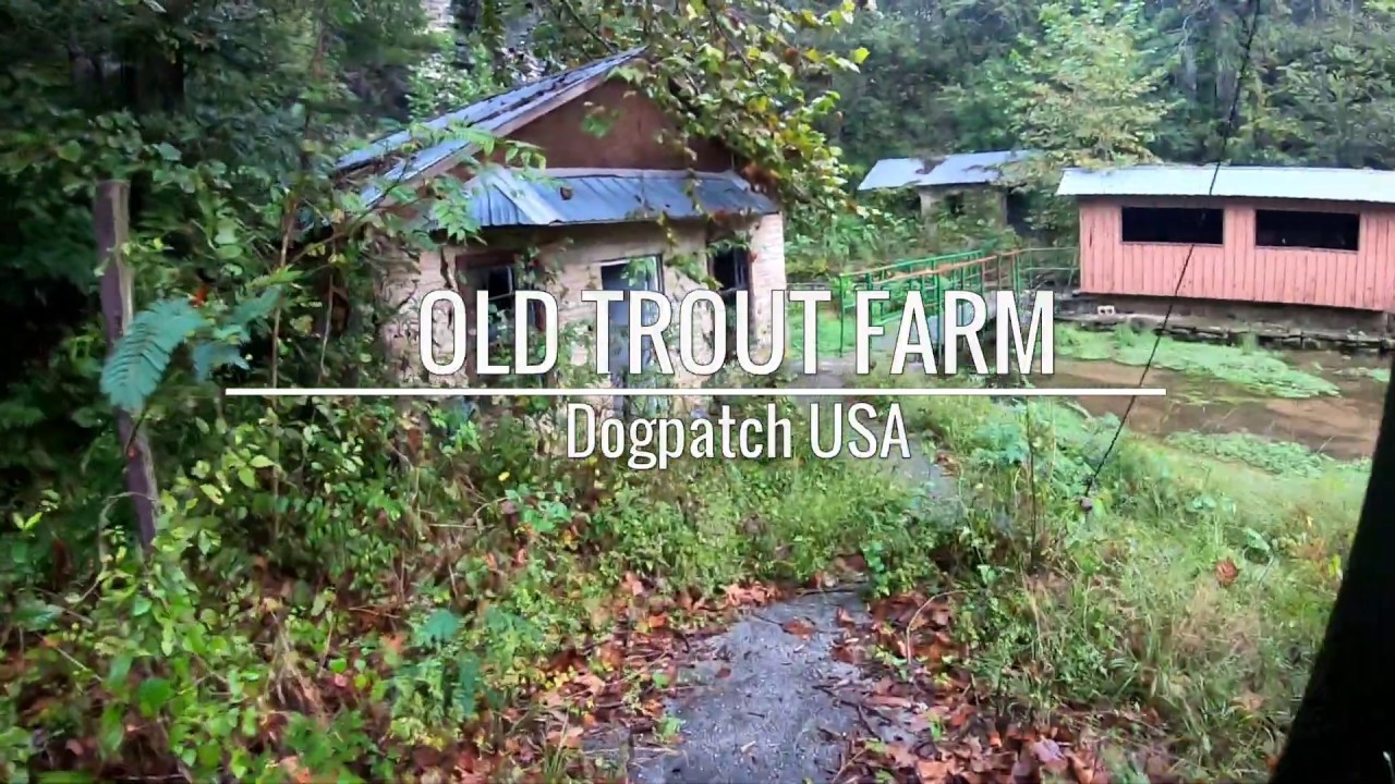 Old Trout Farm at Dogpatch USA [ HD VIDEO ]