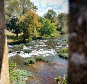 View of Shoal Creek from Reddings Mill Bridge - Joplin, MO