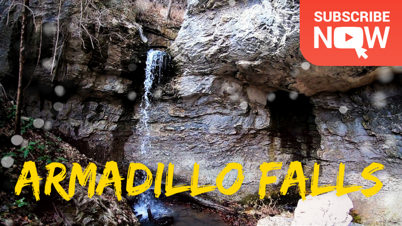 Armadillo Falls Hike [ HD Video ]